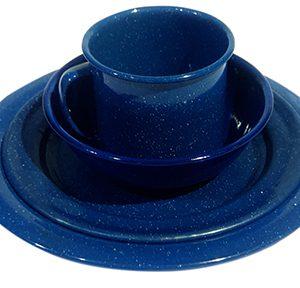 Blue Enamel Tinware