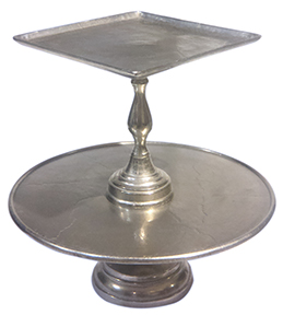 Pewter Cake Stands