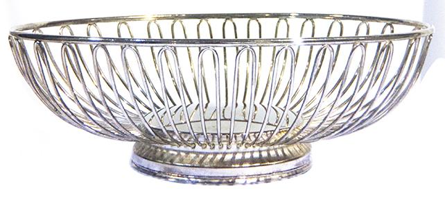 Silver Bread Basket