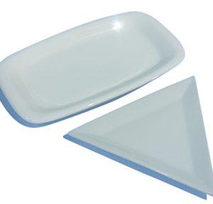 White Appetizer Plates