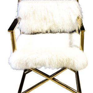 Mohair Side Chair